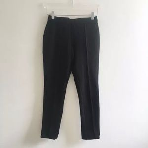 Romeo + Julilet Couture Cropped Pants Black Small